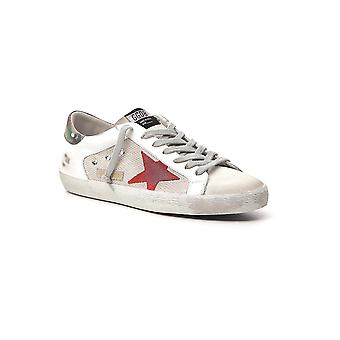 Golden Goose G36ms590u62 Men's White Leather Sneakers