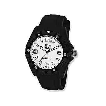 Mens SWI55 Navy General  White Dial Watch