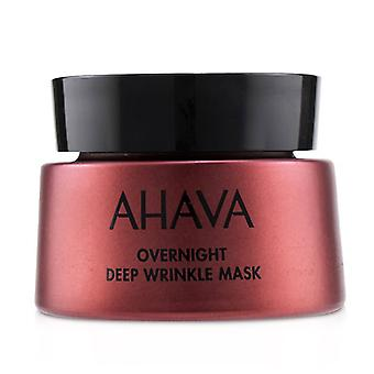 Ahava Jabłko Sodom Overnight Deep Wrinkle Mask 50ml/1.7oz