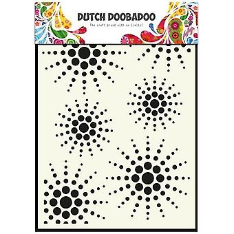 Hollandsk Doobadoo hollandske Mask Art stencil søn A5 470.715.026