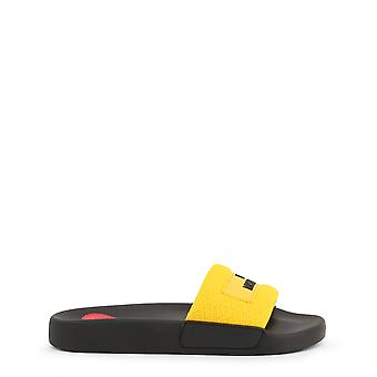 Love Moschino Original Women Spring/Summer Flip Flops Black Color - 72644