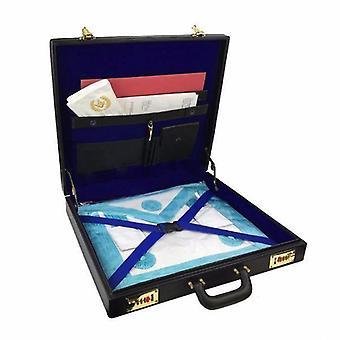 Masonic regalia mm/wm apron briefcase