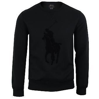 Ralph lauren men's black sweatshirt