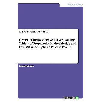 Design of Regioselective Bilayer Floating Tablets of Propranolol Hydrochloride and Lovastatin for Biphasic Release Profile by Kulkarni & Ajit