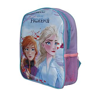 Frozen II Kinder/Kinder Rucksack mit Mesh Seitentasche
