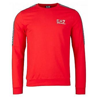 Ea7 Train Logo Series Taped Sweatshirt