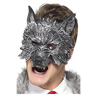 Deluxe store stygge ulv maske