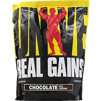 Universal Nutrition Real Gains - 20 Servings - Chocolate Ice Cream