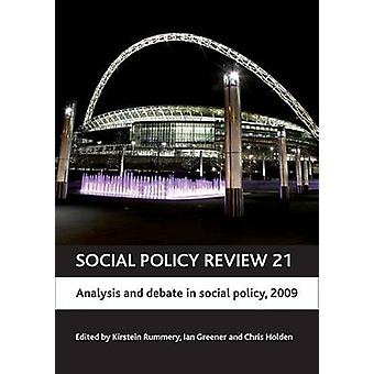 Social Policy Review 21 - 2009 - 9781847423733 Book