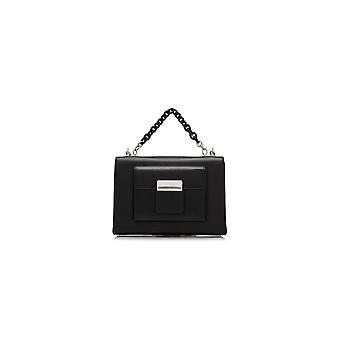 Balenciaga Ezcr006001 Women's Black Leather Shoulder Bag