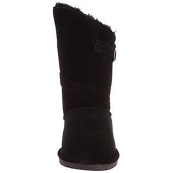 Bearpaw Womens Tatum Suede Closed Toe Mid-Calf Fashion Boots