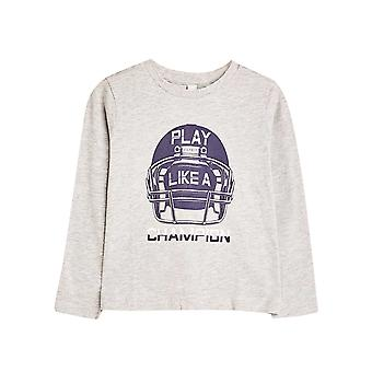 Esprit Kids' Cotton Printed Long Sleeve Top