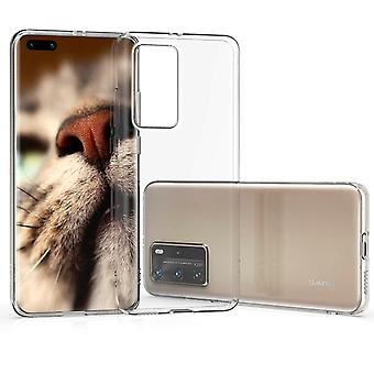 Huawei P40 - 3MK Clear TPU Mjuk Skal - Transparent