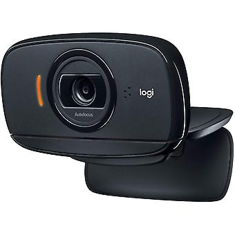 Logitech c525 portable webcam, hd 720p/30fps, widescreen hd video calling, foldable, hd light correction, autofocus, noise reduction