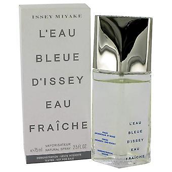 L'eau Bleue D'issey Pour Homme Eau De Fraiche Toilette Spray (Tester) By Issey Miyake 2.5 oz Eau De Fraiche Toilette Spray
