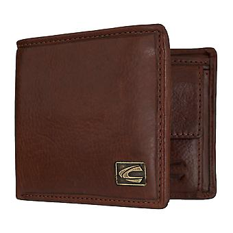 Sac à main camel active mens wallet portefeuille avec protection puce RFID Cognac 7319