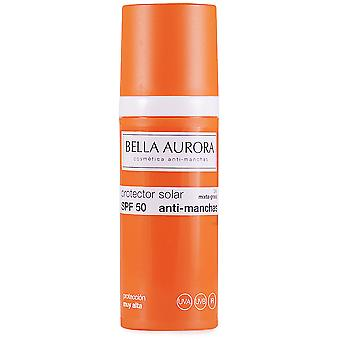 Bella Aurora Spf 50 Anti-Stain Sunscreen Mixed Skin - 50 ml fat