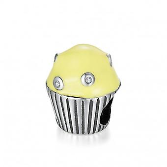 Sterling Silver Charm Cupcake - 6617