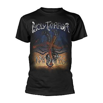 Holy Terror Mind Wars camiseta oficial camiseta hombres unisex