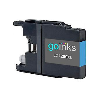 1 Cyan Ink Cartridge to replace Brother LC1280XLC Compatible / non-OEM for Brother MFC Printers
