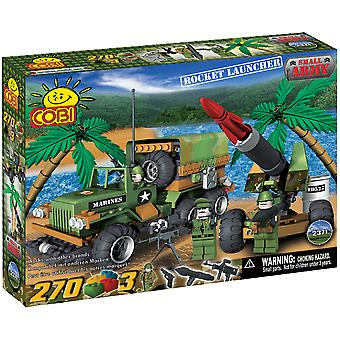 Small Army 270pc Rocket Launcher Military Vehs Construct St