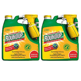 Sparset: 2 x ROUNDUP® Alphee, 3 litres