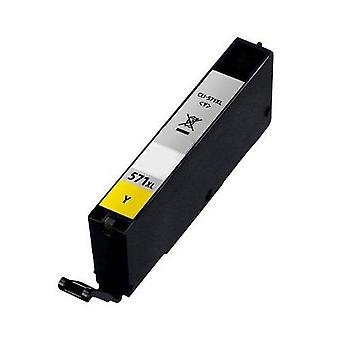 RudyTwos Replacement for Canon CLI-571XL Ink Cartridge Yellow Compatible with PIXMA MG5750, TS5050, MG5751, MG5752, MG5753, MG6850, MG6851, MG6852, MG6853, TS5051, TS5053, TS5055, TS6050, TS6051, TS60