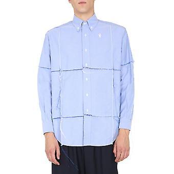 Marni Cumu0159y0s5292800b50 Men's Light Blue Cotton Shirt