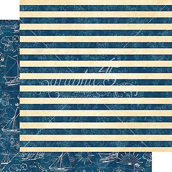Graphic 45 Sail Away 12x12 Inch Paper Pack