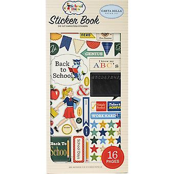 Carta Bella School Days Sticker Book