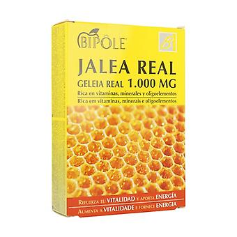 Bipole Royal Jelly 20 ampoules of 1000mg (1000mg)