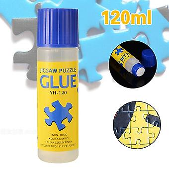 Safe Clear Fast Dry Glue Stick - Papers Jigsaw Conserver Glue Tool For Puzzle