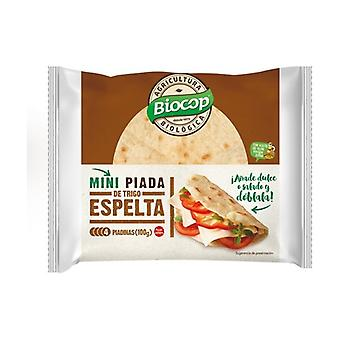 Spelled Mini Wheat Piada 4 units of 100g