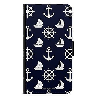 Bjornberry Wallet Case LG G5 - Sailing Pattern