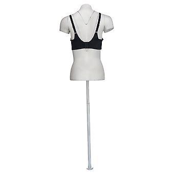 Breezies D Body Brilliance Cut & Sew Unlined Underwire Bra Black A372786