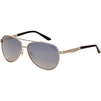 Sonnenbrille Unisex Piloten  Spiegel Objektiv   Silber (A-Z7230)