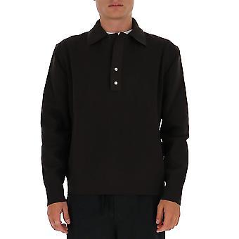 Bottega Veneta 633079vkvz02113 Heren's Bruin Polyester Polo Shirt