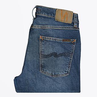 Nudie Jeans - Lean Dean - Blue Vibes Jeans - Blue