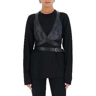 Junya Watanabe T0070511 Femmes-apos;s Black Cotton Top