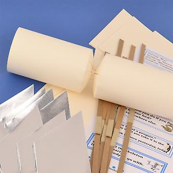Single Ivory Make & Fill Your Own DIY Recycleable Christmas Cracker Craft Kit Single Ivory Make & Fill Your Own DIY Recycleable Christmas Cracker Craft Kit Single Ivory Make & Fill Your Own DIY Recycleable Christmas Cracker Craft Kit Single Ivory