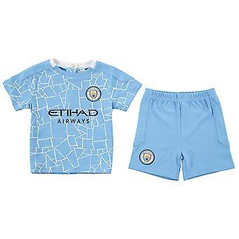Manchester City FC Baby T-shirt & Shorts Set | 2020/21