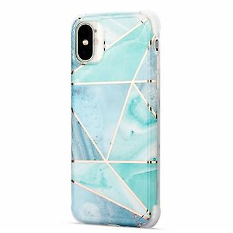 Stoßfestes Mobile Case mit Halter, für iPhone X/XS - Blau
