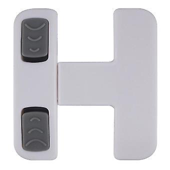 Serratura scorrevole della porta con doppia fibbia design sicurezza