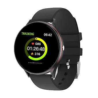 Lige Red Line Smartwatch Smartband Smartphone Fitness Sport Activity Tracker Watch IPS iOS Android iPhone Samsung Huawei Black