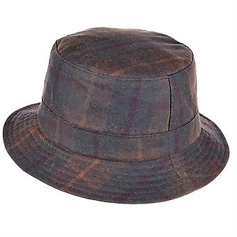 ZH213 (HUNTER XL 62cm ) Lachlan Tartan Wax Bush Hat