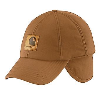 Carhartt work flex ear flap cap a199 - light brown