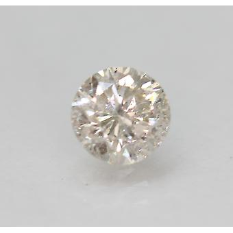 Zertifiziert 0.70 Karat J VS2 Round Brilliant Enhanced Natural Loose Diamond 5.5mm