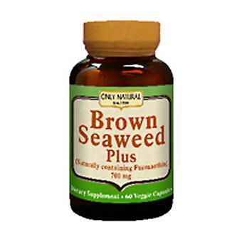Only Natural Brown Seaweed Plus, 700 mg, 60 caps