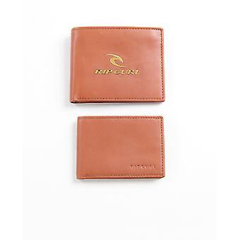 2 Rip Curl Läder Män's plånböcker Med RFID ~ Corpowatu brun