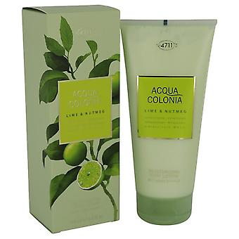 4711 Acqua Colonia Lime & Nootmuskaat Body Lotion Door 4711 6.8 oz Body Lotion